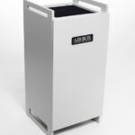 AIRBOX stand alone cabinet Peak S Air Purifier in grey home air purifier