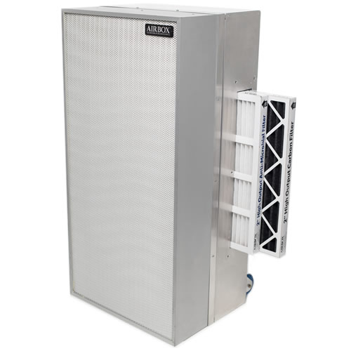 Apex Air Purifier with filters out