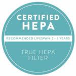 AIRBOX Certified HEPA Air Purifier FIlter seal logo