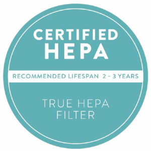 AIRBOX Certified HEPA Air Purifier FIlter seal logo