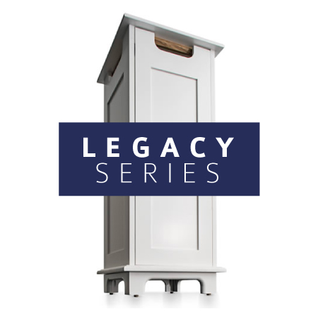 AIRBOX™ legacy series air purification system white cabinet